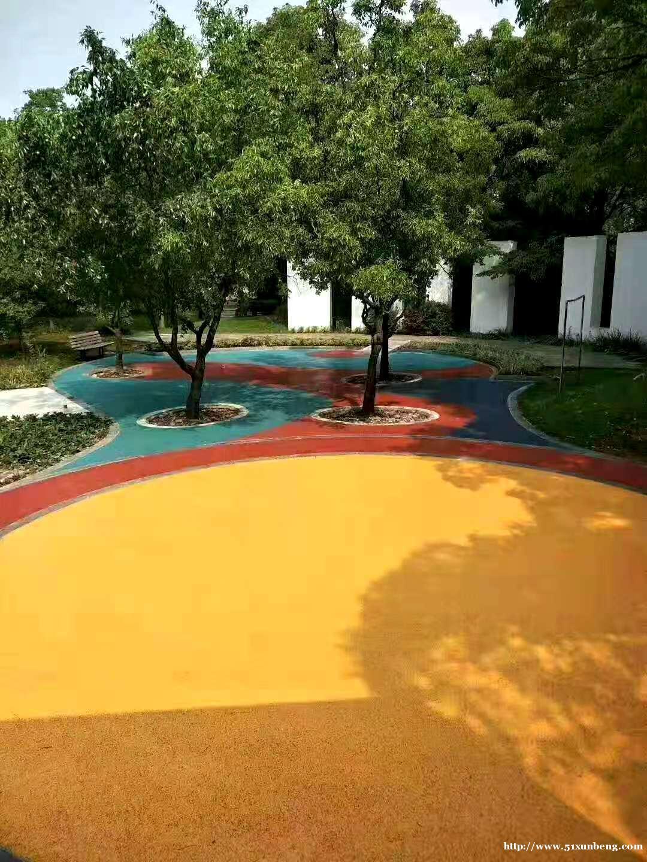 厂家彩色透水混凝土 透水砼 透水混凝土原材料厂家 透水地坪